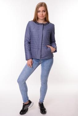 Женская демисезонная куртка  ДЖИНСОВЫЙ