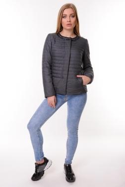 Женская демисезонная куртка  ГРАФИТ