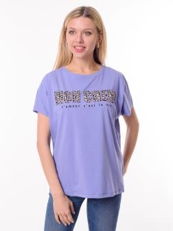 футболка женская Сиреневый
