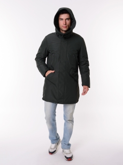 Мужская Куртка  ЗЕЛЕНЫЙ