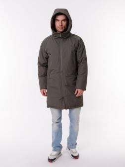 Мужская Куртка  Серый