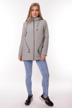 Женская демисезонная куртка БЕЖЕВЫЙ
