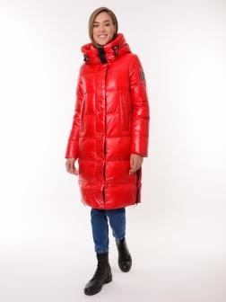 Женская зимняя куртка Красный