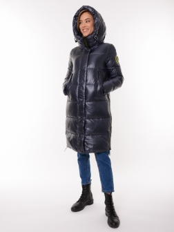 Женская зимняя куртка графит