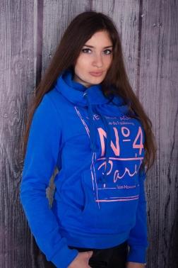 Толстовка женская Ярко-синий