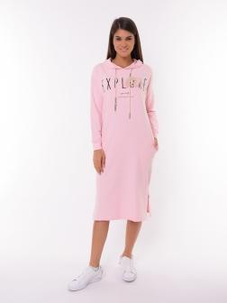 Женское платье Пудра