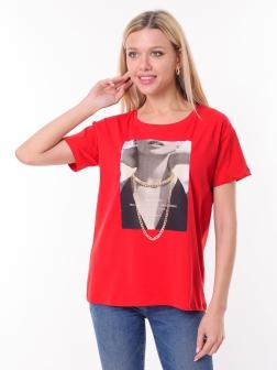 футболка женская короткая рукав