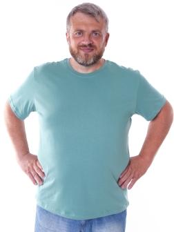 Футболка мужская Голубой