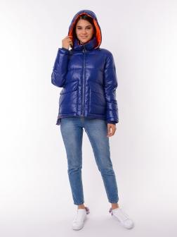 Женская зимняя куртка СИНИЙ