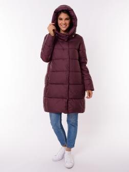 Женская зимняя куртка БОРДОВЫЙ