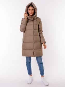Женская зимняя куртка КАПУЧИНО