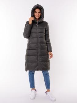 Женская зимняя куртка ХАКИ