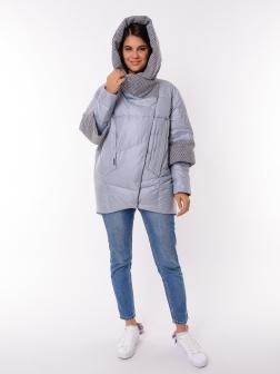 Женская зимняя куртка СВЕТЛО-СЕРЫЙ