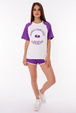 Спортивный костюм женский Фиолетовый