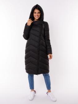 Женская зимняя куртка ЧЕРНЫЙ