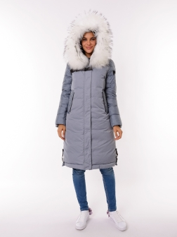 Женская зимняя куртка ГОЛУБОЙ