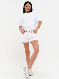 Женские шорты белый