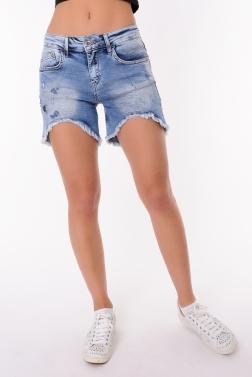 Женские шорты джинсовый