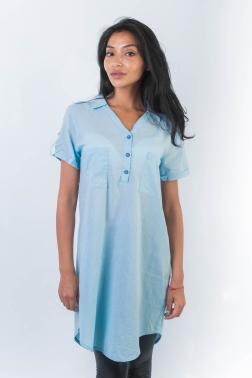 Рубашка женская Мятный