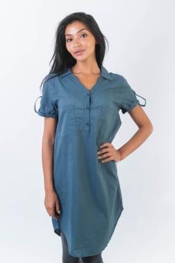 Рубашка женская Голубой