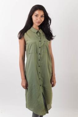 Платье женское Темно-зеленый