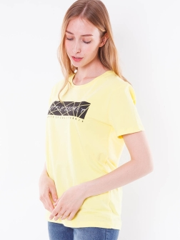 футболка женская Желтый