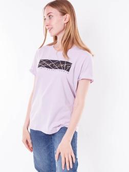 футболка женская Лиловый
