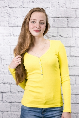 РАСПРОДАЖА Кофта женская Желтый