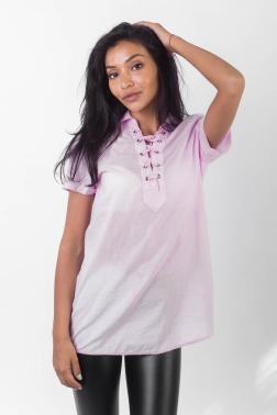 Рубашка женская Розовый