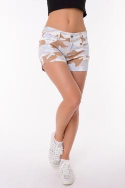Женские шорты хаки