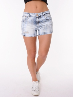 Женские шорты темно-синий