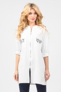 РАСПРОДАЖА Рубашка женская Белый