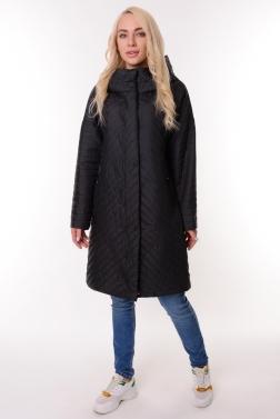 Женская демисезонная куртка ТЕМНО-СИНИЙ