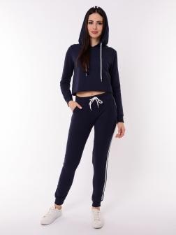 Спортивный костюм женский Темно-синий