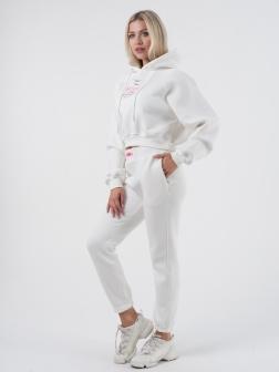 костюм с капюшоном женский Кремовый