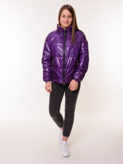 куртка женская фиолетовый