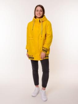 куртка женская желтый