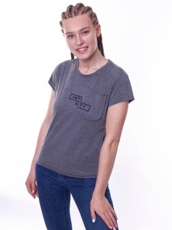 футболка женская  Антрацит
