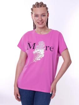 футболка женская  Розовый