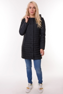 Женская демисезонная куртка ЧЕРНЫЙ